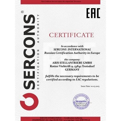 TR-Zertifikat