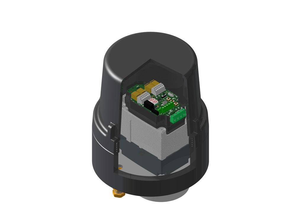 Tensor Drehantrieb Ex-Zonen Tensor Ex Vollelektronischer Drehantrieb für explosionsgefährdete Bereiche